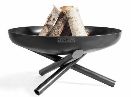 Feuerschale CookKing Indiana aus Stahl | rund 60cm | ohne Deckel