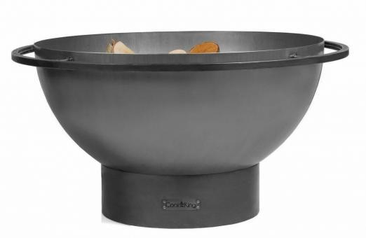 Feuerschale CookKing Fat Boy aus Stahl | rund | extra tief ohne Deckel