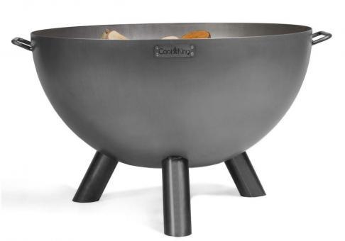 Feuerschale CookKing Kongo aus Stahl | rund | extra tief