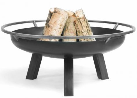 Feuerschale CookKing Porto aus Stahl   rund 80cm   ohne Deckel