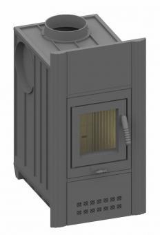 Kachelofeneinsatz Olsberg Concept 9 Frontplatte A (79 x 42 cm)