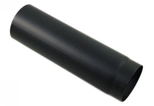 Ofenrohr Ø 120 mm | schwarz | gerade