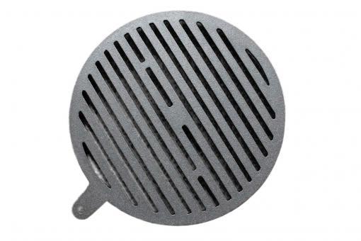 Ofenrost Ortrand rund | aus Gusseisen | 25,5 cm