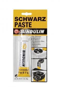 Schwarzpaste BINDULIN Record-Schwarz | 45 g
