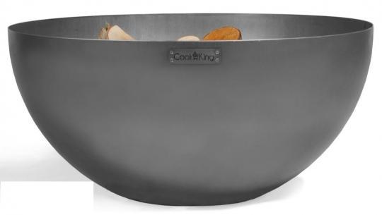 Feuerschale CookKing Dallas aus Stahl | rund | extra tief
