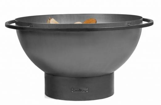 Feuerschale CookKing Fat Boy aus Stahl | rund | extra tief
