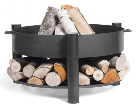 Feuerschale CookKing Montana aus Stahl   rund
