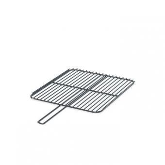 Grillrost FORNO eckig   aus verchromtem Stahl 40 x 45 cm 40x45cm