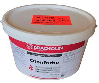 Ofenfarbe DRACHOLIN weiß