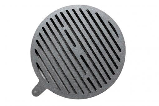 Ofenrost Ortrand rund   aus Gusseisen   28,5 cm