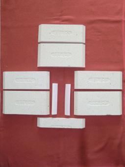 Schamottstein Komplettsatz für Ortrand 3020.6 und 3020.6 1