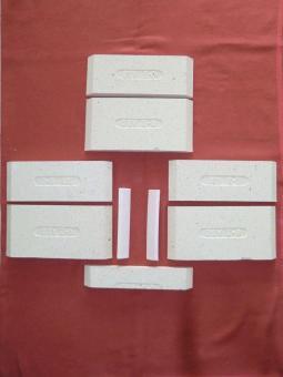 Schamottstein Komplettsatz Ausmauerung für Ortrand 3020.6 1