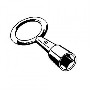 Schlüssel Zürn ZÜRN für Kamintür Zürn B