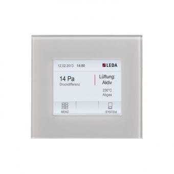 Unterdruckwächter LEDA LUC 2 Set (zum Einbau in gemauerte Wände) Set (zum Einbau in gemauerte Wände)