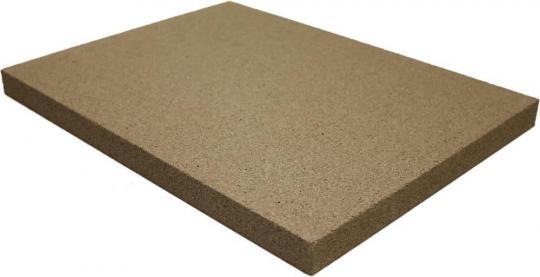 Vermiculite-Platte 25 mm Stärke | 500 x 300 mm