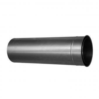 Wandfutter SENDEO Ø 180 | doppelwandig | blank | Länge 50 cm