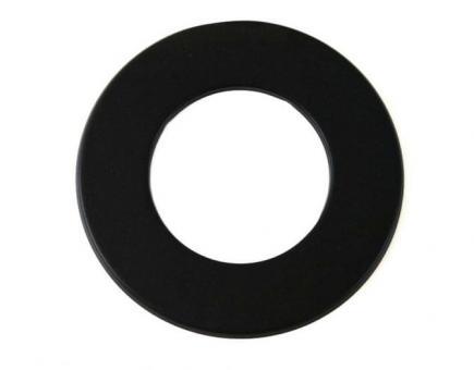 Wandrosette Ø 130 mm | schwarz