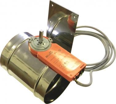 Zuluftklappe Schmid mit Stellmotor 125mm