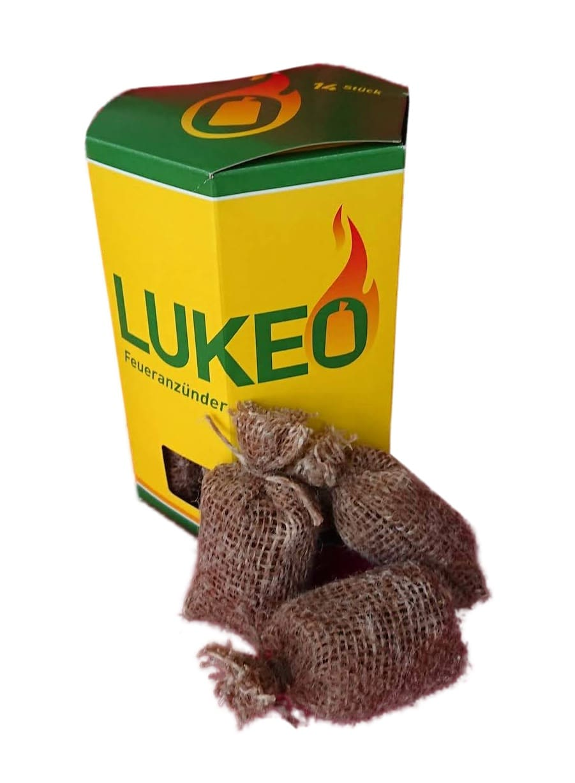 Kaminanzünder LUKEO 14 Stück