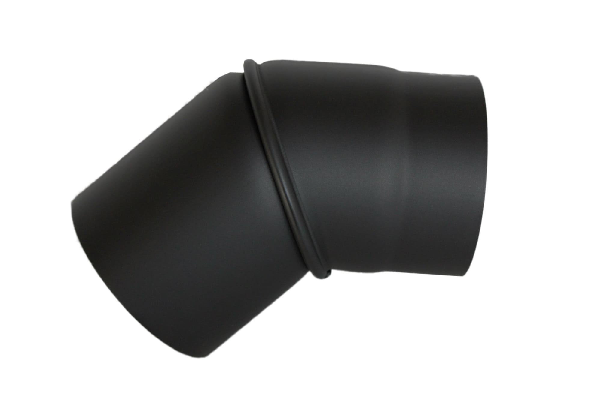 Ofenrohr Ø 120 mmschwarzRohrbogenverstellbar